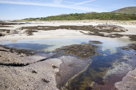 kerry: Rock Pool, Derrymore Bay Beach; Waterville; County Kerry; Ireland