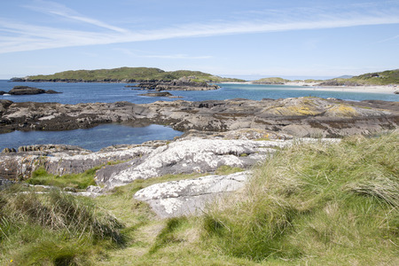 county: Derrymore Bay Beach; Waterville; County Kerry; Ireland Stock Photo