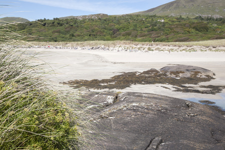 county kerry: Rock Pool, Derrymore Bay Beach; Waterville; County Kerry; Ireland