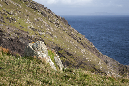 dunquin: Rock on Slea Head, Dingle Peninsula, Ireland