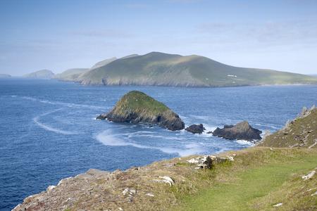 blasket islands: Lure and Blasket Islands, Dingle Peninsula, Ireland