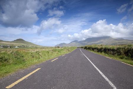 dingle: Open Road on Dingle Peninsula, Ireland Stock Photo