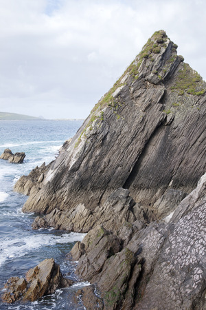 dunquin: Rock at Dunquin Harbour, Slea Head; Dingle Peninsula; Ireland