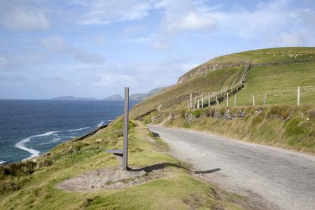 dingle: Slea Head in Dingle Peninsula; Ireland