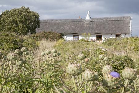 aran: Traditional Cottage, Inishmore; Aran Islands; Ireland