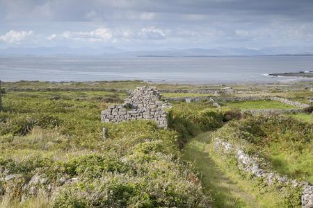 aran: Open Track on Inishmore, Aran Islands, Ireland