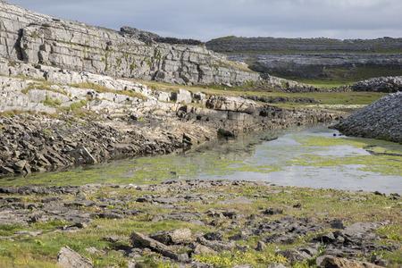 aran: Rocky Landscape on Inishmore; Aran Islands; Ireland