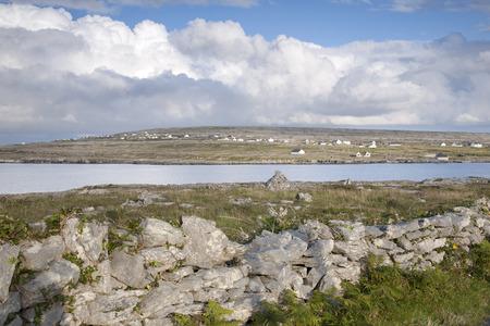 aran: Kilmurvey Village, Inishmore; Aran Islands; Ireland
