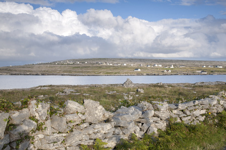 aran islands: Kilmurvey Village, Inishmore; Aran Islands; Ireland