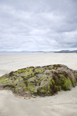 beach landscape: Lettergesh Beach, Connemara National Park, County Galway, Ireland