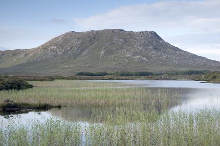 connemara: Landscape of Connemara National Park; Galway; Ireland
