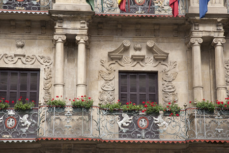 navarra: Pamplona City Hall, Navarra, Spain