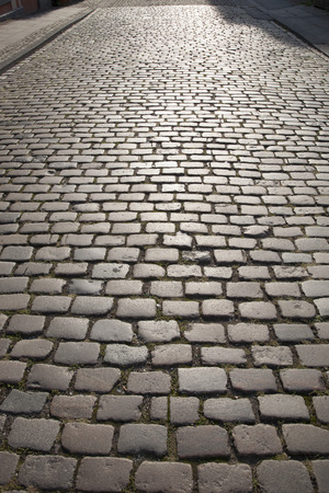 cobble: Cobble Stone Street Background, Cologne, Germany