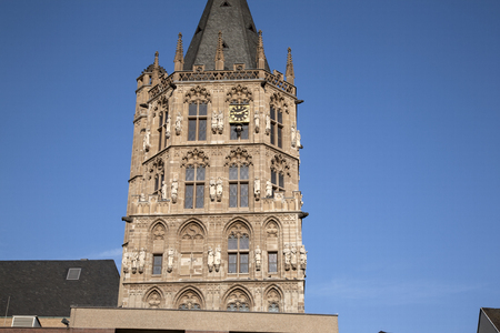 cologne: Saint Martin Church, Cologne, Germany Stock Photo