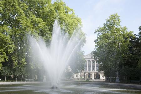 Bruxelles: Fountain in Brussels Park - Parc de Bruxelles - Warandepark, Belgium