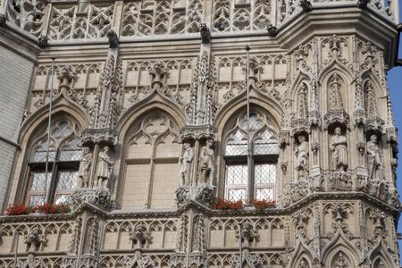 town halls: City Hall, Leuven, Belgium, Europe