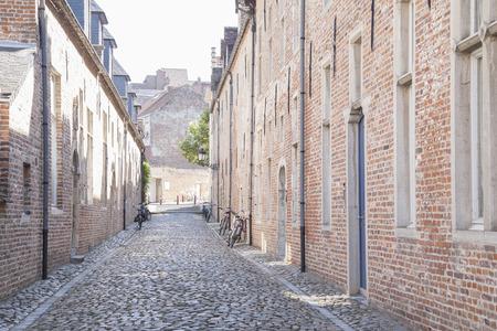 cobble: Cobble Stone Street, Groot Begijnhof, Leuven, Belgium