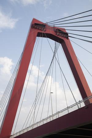 rotterdam: Willemsbrug Bridge in Rotterdam, Holland