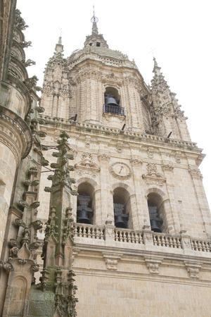 salamanca: Cathedral Church Tower, Salamanca, Europe Stock Photo