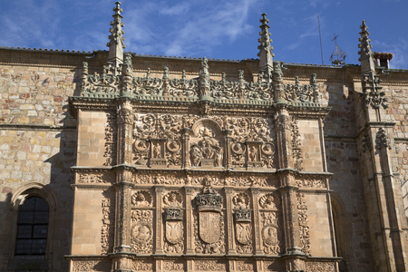 salamanca: University Facade, Salamanca; Spain, Europe Editorial