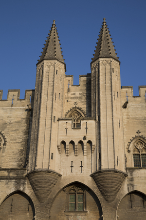 palais: Palais des Papes - Palace of the Popes, Avignon, France