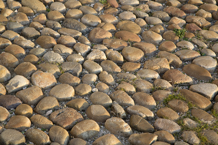 cobble: Cobble Stones in Avignon, France