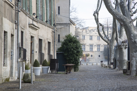 avignon: Place du Palais Square, Avignon, France