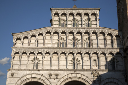 lucca: St Martino Cathedral Church; Lucca; Tuscany; Italy