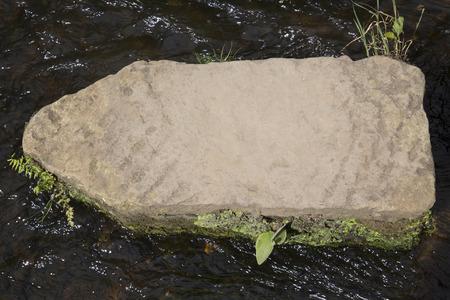 moors: Stepping Stone, Lealholm, North York Moors, Yorkshire, England, UK Stock Photo