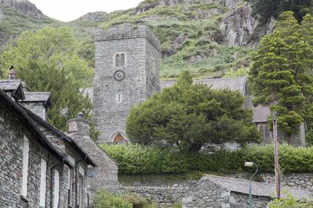 stile: Church in Chapel Stile Village, Lake District, England, UK