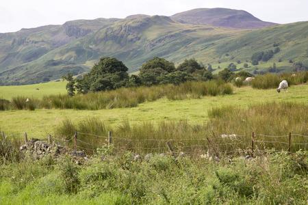 lake district: Mountain outside Keswick; Lake District; England; UK
