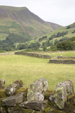 lake district: Valley outside Keswick; Lake District; England; UK