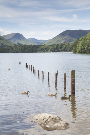 Derwent Water, Keswick, Lake District, England, UK Stock Photo