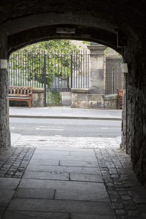mile high city: High Street - Royal Mile, Edinburgh, Scotland