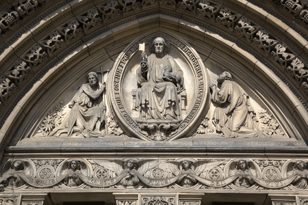 marys: St Marys Episcopal Cathedral Church, Edinburgh, Scotland Stock Photo