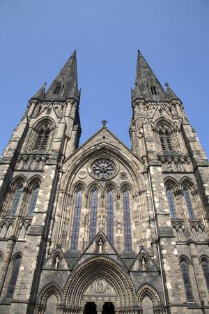 episcopal: St Marys Episcopal Cathedral Church, Edinburgh, Scotland Stock Photo