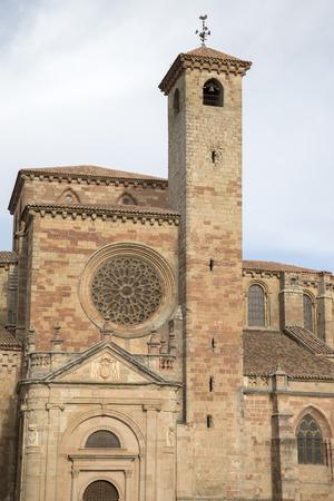 guadalajara: Cathedral Church in Siguenza; Guadalajara; Spain Stock Photo