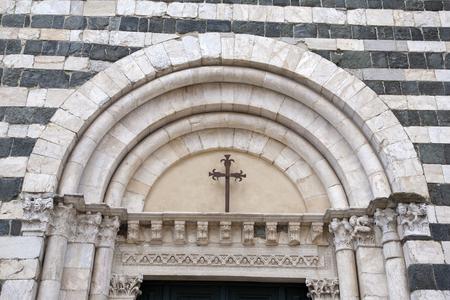 Cathedral Church Baptistry, Volterra; Tuscany; Italy