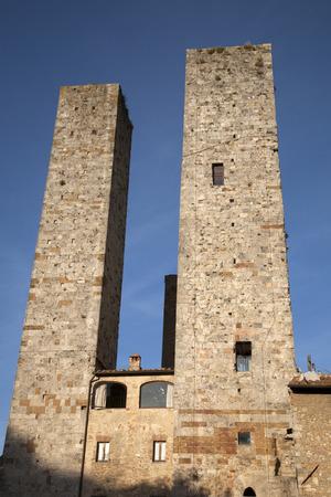 torri: Torre Grossa Tower; San Gimignano; Tuscany; Italy