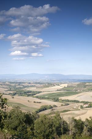 montepulciano: Countryside outside Montepulciano Village, Tuscany; Italy