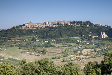 montepulciano: Montepulciano Village, Tuscany; Italy