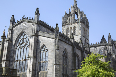 giles: St Giles Cathedral Church, Edinburgh; Scotland