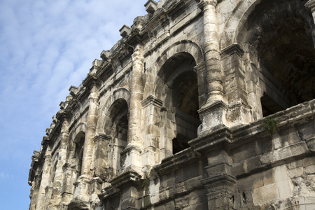 Roman Amphitheatre, Nimes, France, Europe