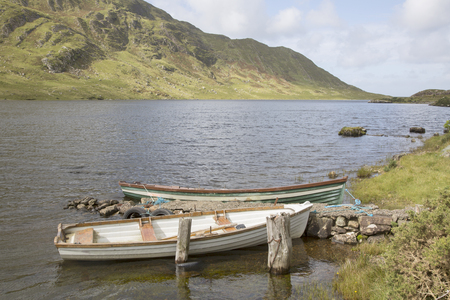 lough: Lough Fee Lake, Connemara; Galway; Ireland