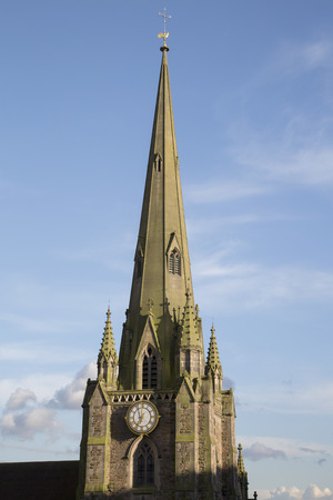 St Martin Church in the Bull Ring, Birmingham, England, UK
