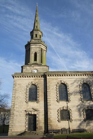 st pauls: St Pauls Church, Birmingham, England, UK