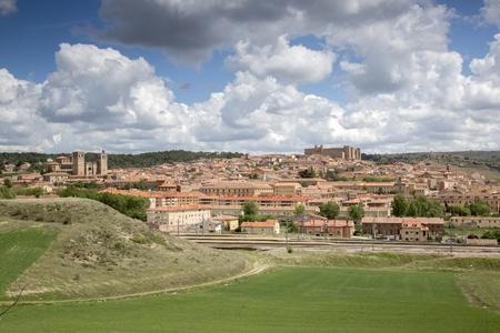 guadalajara: View of Siguenza, Guadalajara, Spain