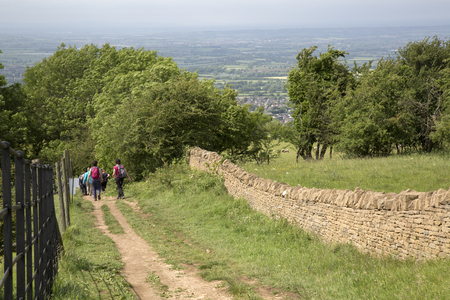 Trekking in Broadway; Cotswolds; Worcestershire; England; UK