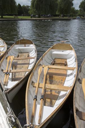 stratford upon avon: Rowing Boat on River, Stratford Upon Avon, England, UK