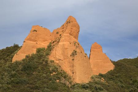 Peaks at Medulas; Leon; Spain